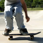 Learn how to ollie with Skateboard Trick Tips
